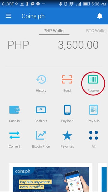 What is my Coins ph wallet address? – Coins ph Help Center