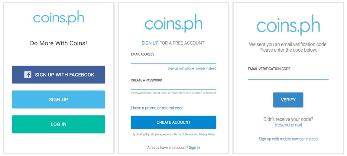 How do I create a Coins ph account? – Coins ph Help Center